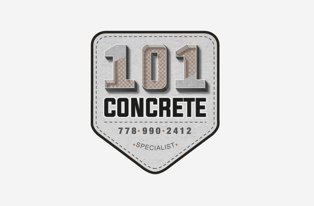 101 Concrete - Logo Design