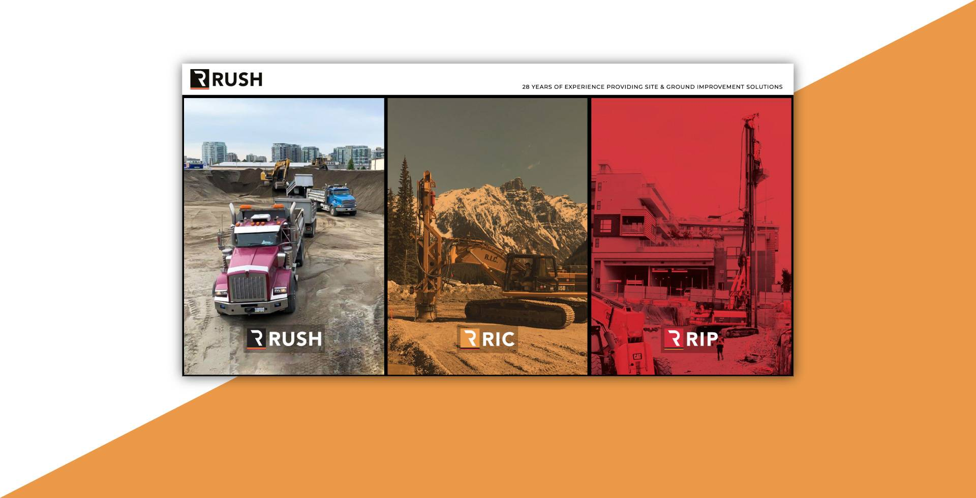 Rush Group - Website Design